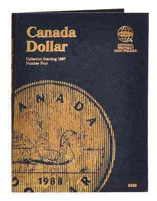 Canada Dollar Folder 4, 1987-2008 By Whitman Publishing (COR)